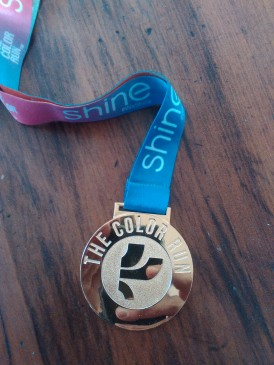 A Nice Shiny Finishers Medal