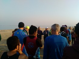 A friendly race briefing