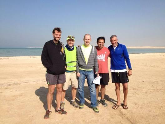 Finished! Left to right: Me, JP (Volunteer),Steve Farnham (director), Mohsin & Derek