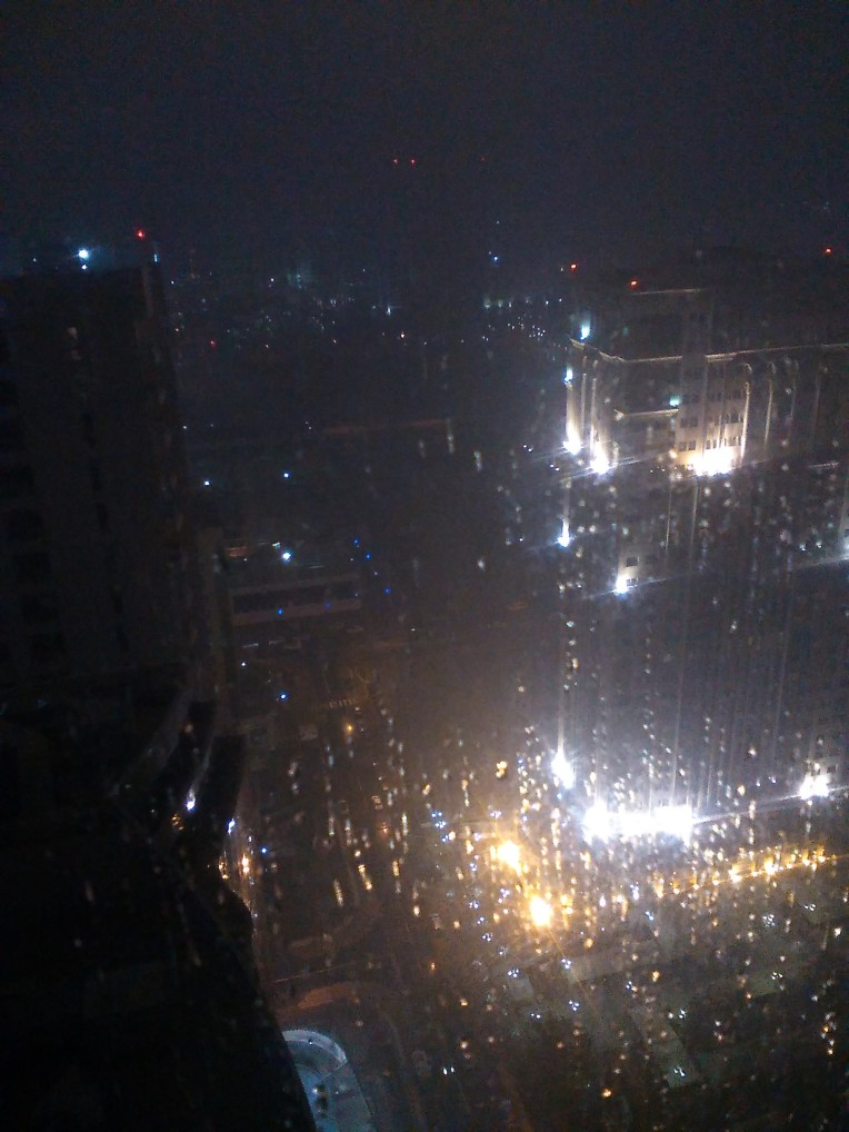 From my Hotel - 9pm