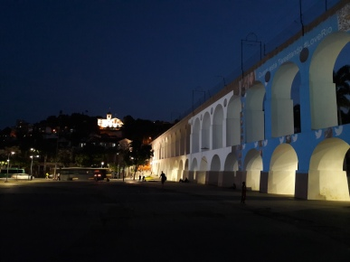 Lapa Arches at night