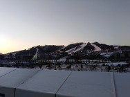 The Olympic media complex and Alpensia resort