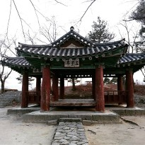 A 91 year old pagoda in Gangneung city